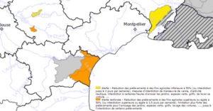Sécheresse Languedoc