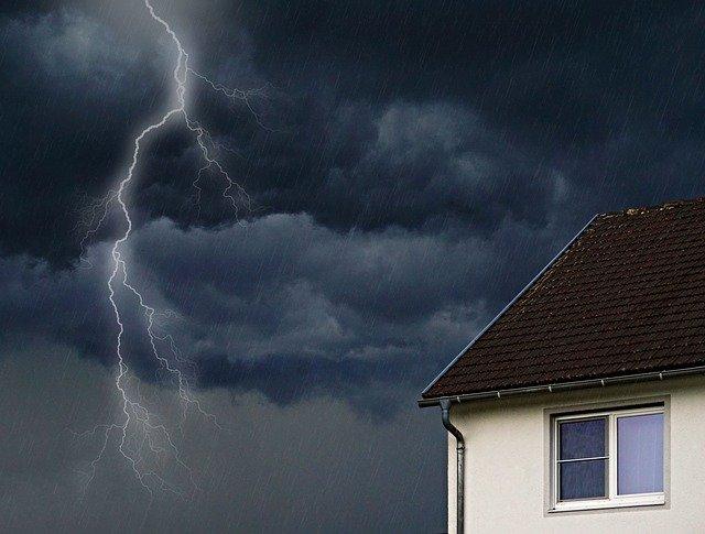 dommages liés à un orage