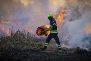 Incendie à Roanne