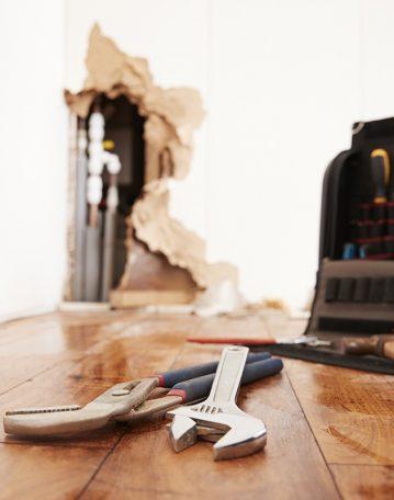 Rénovation après sinistre